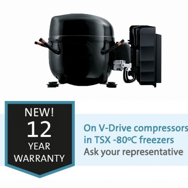 15-05-2019 - NEW! Extended warranty on TSX ULT Freezers